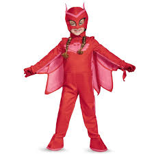 delux halloween costumes pj masks owlette deluxe toddler costume buycostumes com