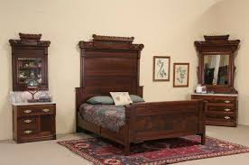 Eastlake Marble Top Bedroom Set Victorian Bedroom Set Beds Decoration