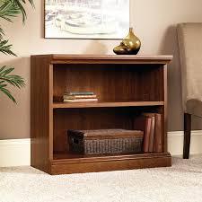 Sauder Bookcase Cherry by Amazon Com Sauder Camden County 2 Shelf Bookcase Planked Cherry