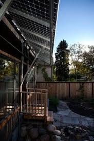 Powered Awnings Solar Panel Awnings Are Very Aesthetic And Is A Creative Way To