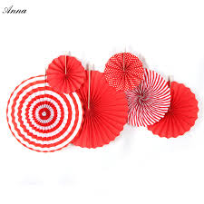 cheap paper fans 6pcs lot cheap paper fans for wedding tissue paper fans