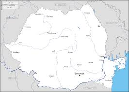 Map Of Romania Romania Map Main Cities Travel Map Vacations