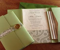 wedding invitation pockets pocket folders for wedding invitation suites invitations by ajalon