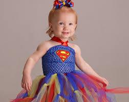 Toddler Superman Halloween Costume Superman Tutu Etsy
