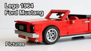 lego 1 18 scale 1964 ford mustang pictures youtube