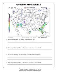 predicting the weather worksheet free worksheets library