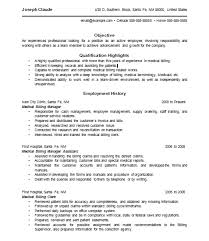 Employment Specialist Resume Ingenious Inspiration Ideas Medical Billing And Coding Resume 14