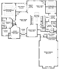 single story house plans with 2 master suites fair floor bedrooms