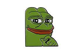Sad Meme Frog - internet meme smug frog pepe lapel pin sad dank collector in pins