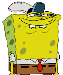 Spongebob Licking Meme - i get to use this at last 63648103 added by failbro at you ask