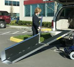 lightweight portable ramps roll a ramp wheelchair aluminum ramp