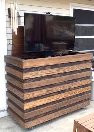 outdoor tv lift cabinet outdoor tv homemade custom tv cabinet with remote tv lift
