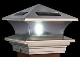 solar lights for round fence posts u2014 bitdigest design solar