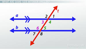 Alternate Corresponding And Interior Angles Same Side Interior Angles Definition U0026 Theorem Video U0026 Lesson