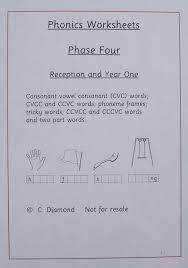 ks1 phase 4 phonics worksheets pdf file to print out amazon co