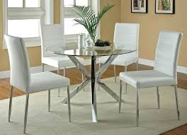 Chairs For Dining Table Round Kitchen Table With 6 Brown Round