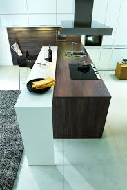 cuisine bois design cuisine blanc bois 1 photo de cuisine moderne design