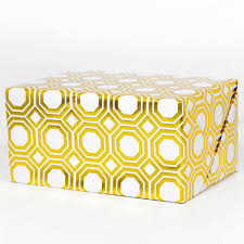 gold wrapping paper geometric gold foil wrapping paper by hautepapier on etsy 10 00