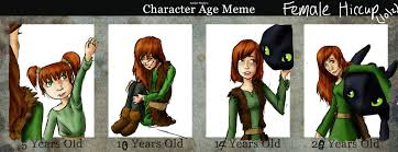 Photo Edit Meme - edit age meme girl hiccup by silkenstarrs on deviantart