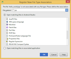 android file associations app engine what is the appropriate jsp file type