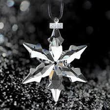 fashion large snowflakes car pendant ornaments annual