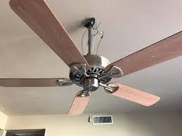 ceiling fan not working on all speeds harbor breeze 52 bdb52bnk5n brushed nickel ceiling fan 3 speed ebay