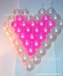 plastic balloons 2018 wholesale heart shaped mesh grid balloon on the 5th plastic