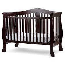 emily 4 in 1 convertible crib cherry wood 4 in 1 crib cribs u0026 toddler beds compare prices at