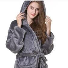robe de chambre avec capuchon peignoir de bain femme a capuche achat vente pas cher