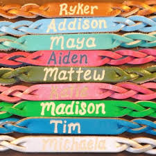 10 best designs of name bracelets for and boys
