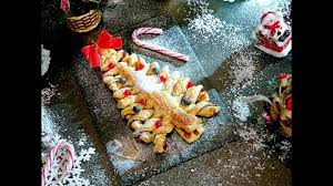 puff pastry and nutella christmas tree youtube