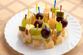 canapes fruit canapes fruit on the plate stock image image of fruit 51483983