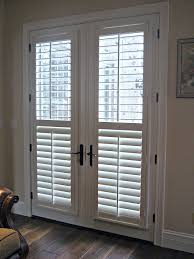 How To Hang Blinds On A Door French Door Blinds About Remodel Stylish Home Designing
