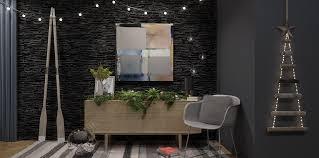 christmas interiors urban style anita brown 3d visualisation