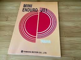 yamaha jt1 jt1l mini enduro service manual u2022 35 00 picclick