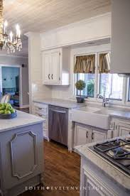 all of the cabinets were painted in snowbound by sherwin williams