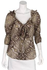 snake print blouse just cavalli print blouse own the couture canada s