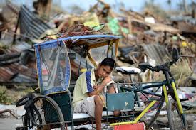 philippines pedicab typhoon yolanda latest update victims plead for aid in