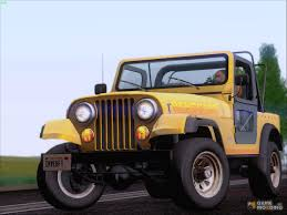 renegade jeep cj7 jeep cj 7 renegade 1982 for gta san andreas