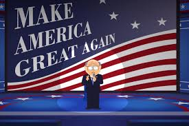 Garrison Flag Size South Park Was As Surprised By The Election Results As Anybody Vox