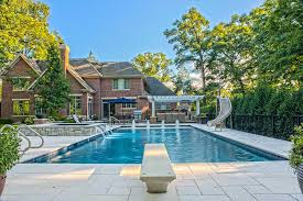 Deep Backyard Pool by Deep Downes Swimming Pools Arlington Heights Il