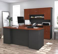 Executive Desk With Hutch Barrel Studio Independence Executive Desk With Hutch Reviews