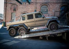 mercedes g63 amg 6x6 for sale mercedes brings g63 amg 6x6 to the northeast