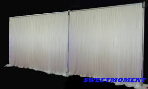 wedding backdrop and stand hot sale 3x6m 10feet x20feet wedding backdrop pipe drape
