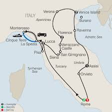 Map Of Tuscany Italy Italy Vacation With Rome Assisi U0026 More Globus Tours