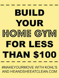 build your home for less than 100 at home workout