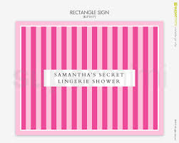 Victoria Secret Bedroom Theme Pink Stripes Victoria Secret Themed Welcome Signs Customized