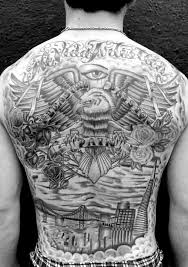 Back Pieces Tattoos San Francisco Back Haight Ashbury