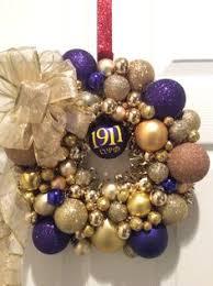 Purple Gold Christmas Decorations Omega Psi Phi Christmas Ornaments Rainforest Islands Ferry