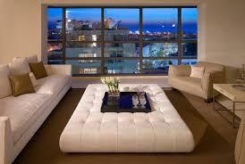 White Leather Ottoman White Leather Ottoman Table Home Design Garden U0026 Architecture